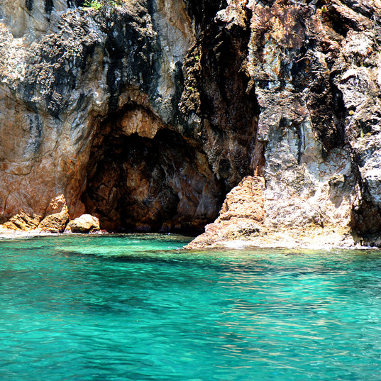 The Caves, Norman Island, British Virgin Islands