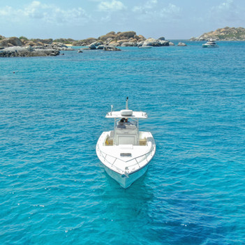 Yacht in British Virgin Islands
