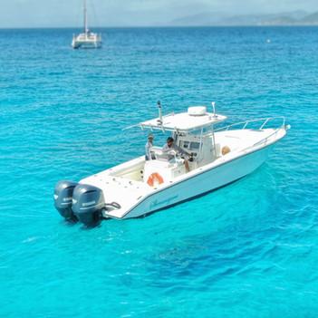 Boat in BVI