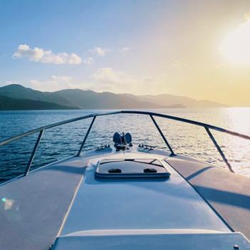 Sunset cruise bvi