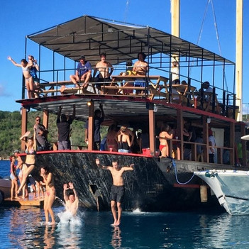 Willy-T Bar, British Virgin Islands