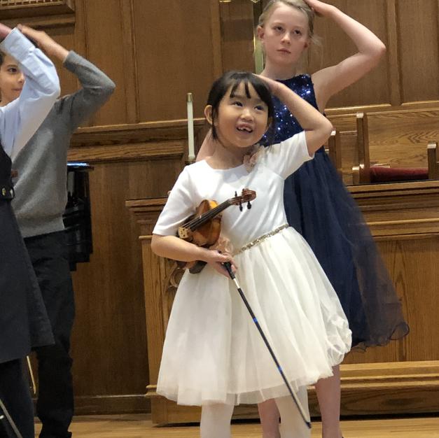 CSSA Strings Festival 2019. Violin Group.