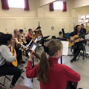Classical Guitar Flamenco Group with Holly Blazina.