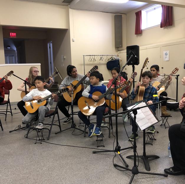 Classical Guitar Play In with Mandy Loban-Jordan. Winter Workshop 2020.