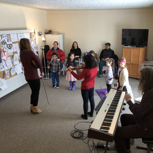 Winter Workshop 2020 Pre Twinkler Class. Instructor Zoe Ko. Collaborative Pianist Steve Komar.
