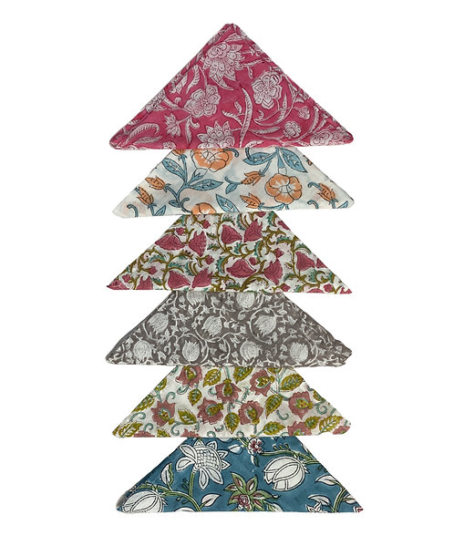Hand printed napkins ~ Pick a mix