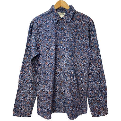 Organic Ajrakh Shirt