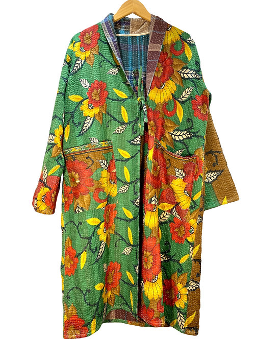 Vintage kanta kimono long jacket