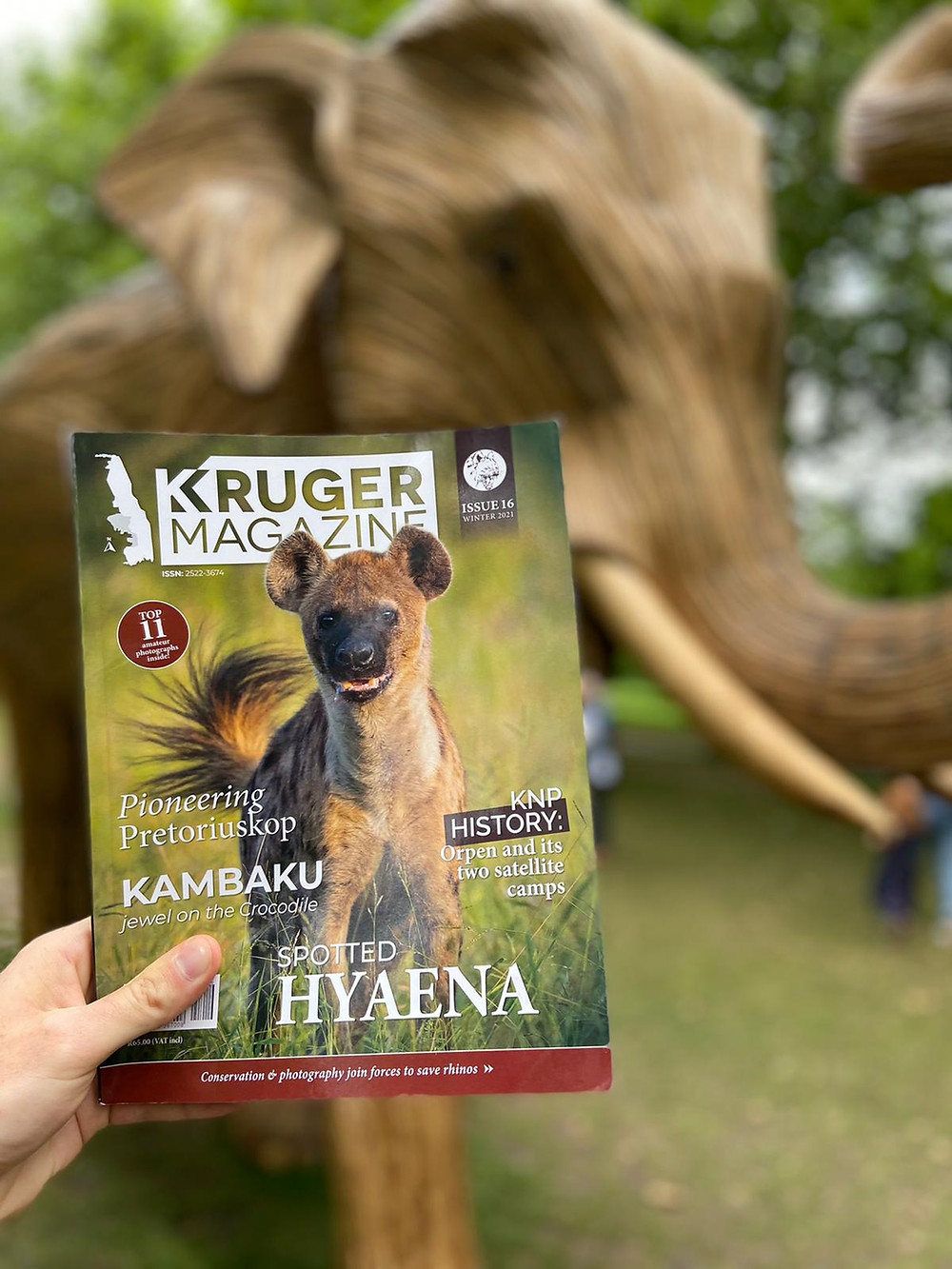 Kruger Magazine in London