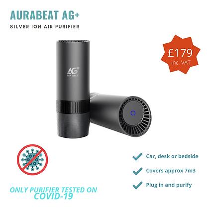 Aurabeat AG+ Portable Silver Ion Air Purifier