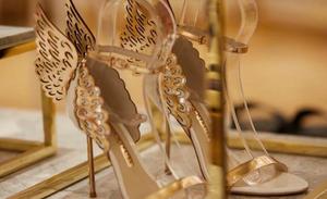 miss terri shopper david jones level 7 shoe heaven miss terri shopper lifestyle makagzine fashion style shopping retail influencer editor shophia webster wings heels australia melbourne sydney