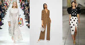 polka dots spring 2018 style edit trend miss terri shopper designer retail shopping magazine mystery shopper style icon fashion icon influencer australia melbourne lifestyle fashion editor Valentino Carolina Herrera Refinery29