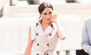 How Megan Markle is Influencing Shopping Habits fashion style lifestyle magazine miss terri shopper influencer icon leader australia melbourne fashion retail news nonie sleeveless trench dress blush pink