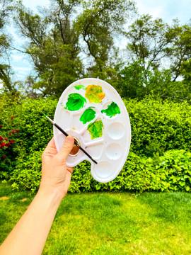 Green Art Palette - StudioSisson