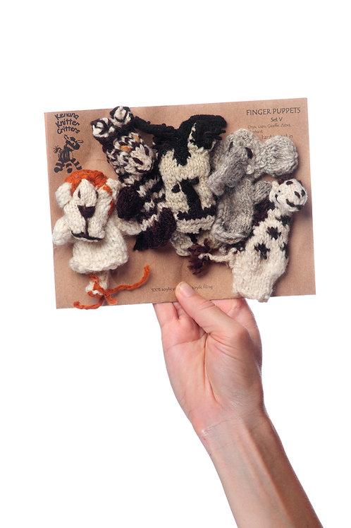 Finger Puppets (Set of 5)