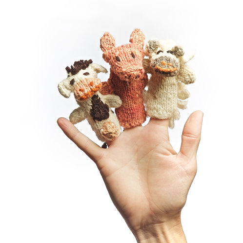 Finger Puppets (Set of 3)