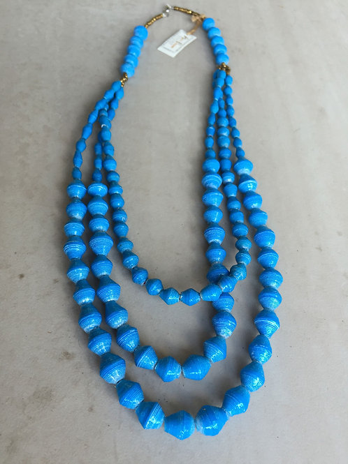 Afribeads Triple Strand Necklaces