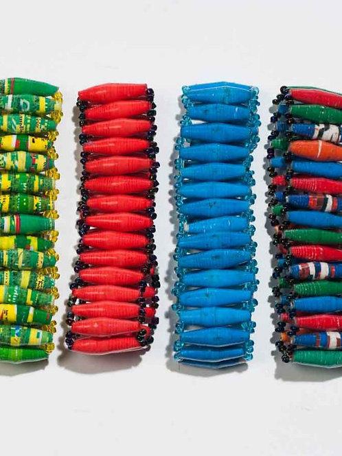 Afribead Long Wide Bead bracelets