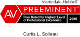 Preeminent Lawyer - Beaumont Personal Injury Attorney - Curtis L. Soileau