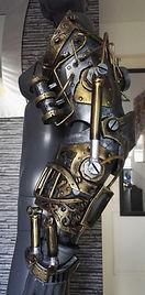 Steampunk robot led