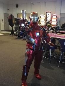 Iron Man-animation cosplay