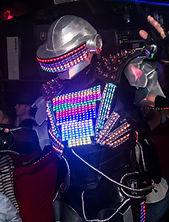 Robotled Daft Punk- Angers-Nantes-Rennes-Amiens-Paris a partir de 290€