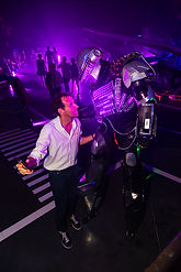 animation-robotled-performer-nantes-angers