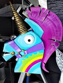 Fortnite cosplay licorne