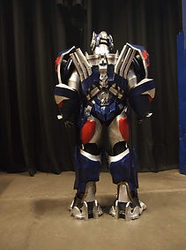 Optimus Prime cosplay