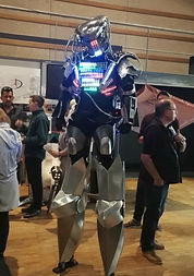 robot led-animation Angers 49