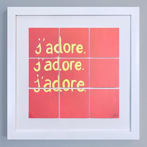 'J'adore'