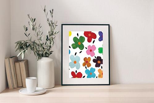 'Flower Power' Print 2.0