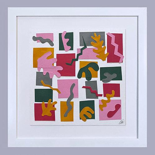 'Mosaic Cut Out'