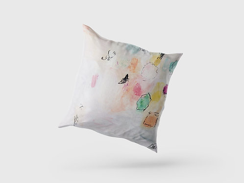 'Soft Pastels' Cushion
