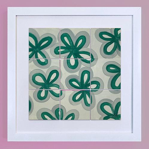 'Green Petal Pattern'