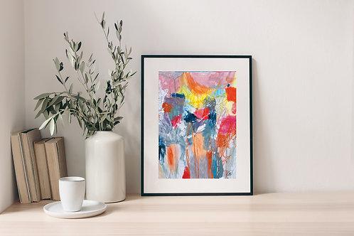 'Pastel Mess' Print 2.0