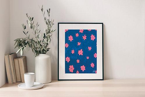 'Night Flower' Print 2.0