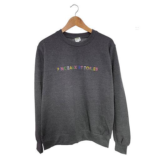 PINCEAUX ET TOILES - Sweatshirt