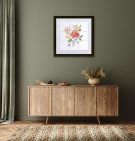 'Delicate Florals II'