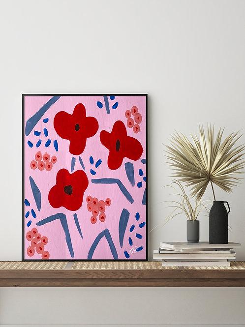 'Tulips' Print 2.0