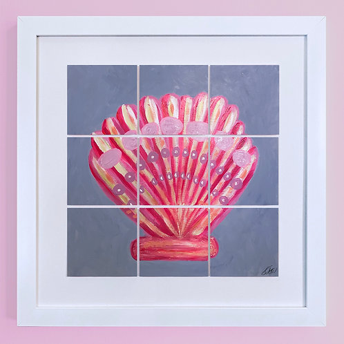 'Abstract Shell Pink'