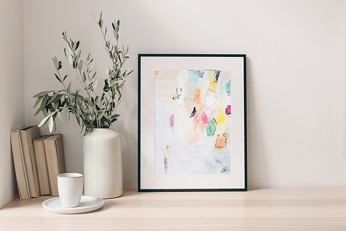 'Soft Pastels' Print 2.0