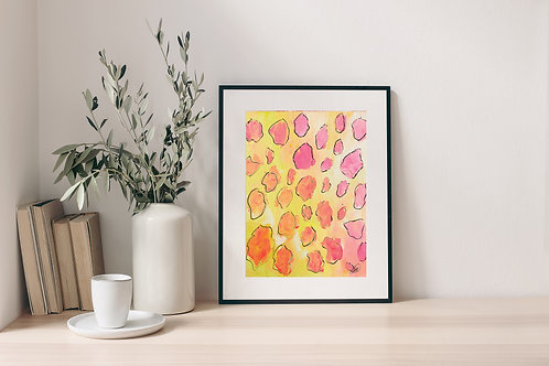 'Abstract Leopard' Print 2.0
