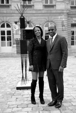 Avec Pierre De Gaétan Njikam-Mouliom