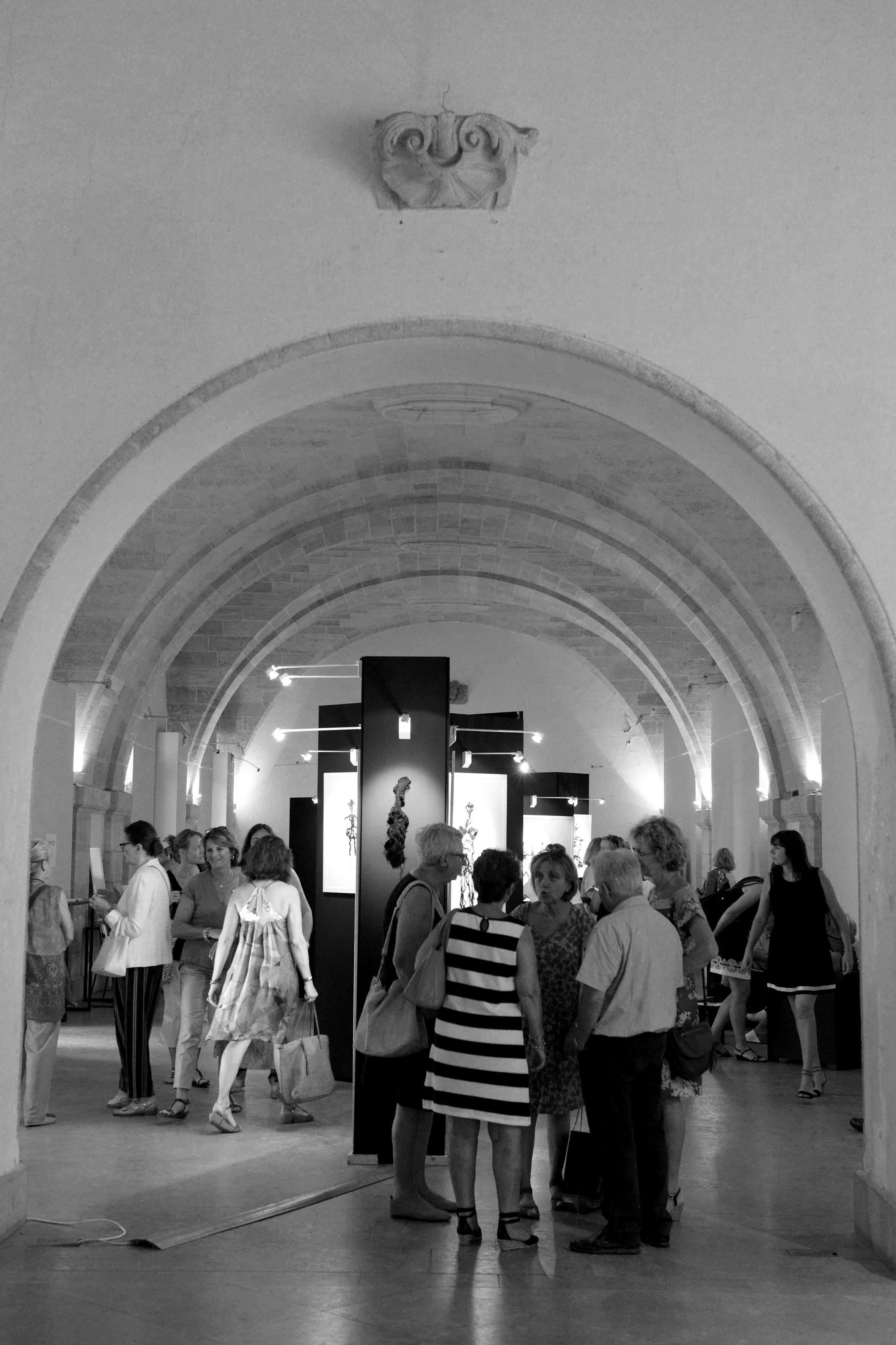 Vernissage Cour Mably à Bordeaux