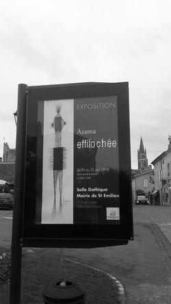 Publicité à St Emilion
