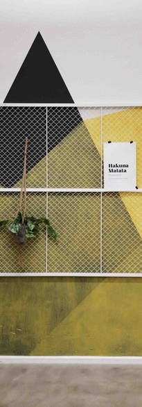Innenarchitekturbüro Design Studio Ottilia präsentiert: Farbige Wände bringen Energie ins Raum