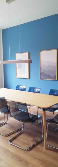 Interior Design for a Meeting Room in Hamburg