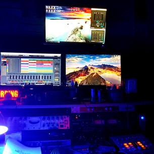night time _ the studio