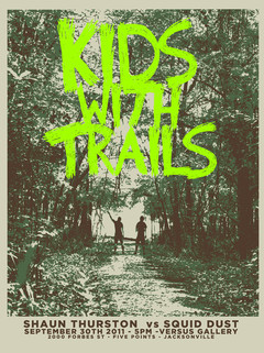 Kids With Trails - Show Poster